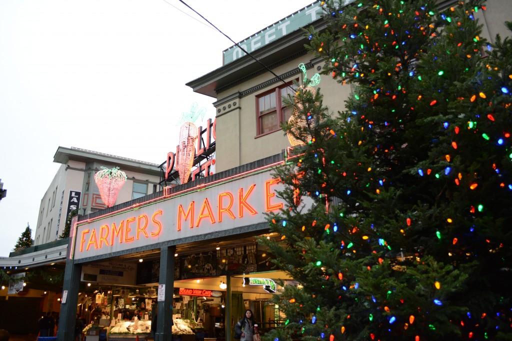 Pike Place Market Christmas Tree