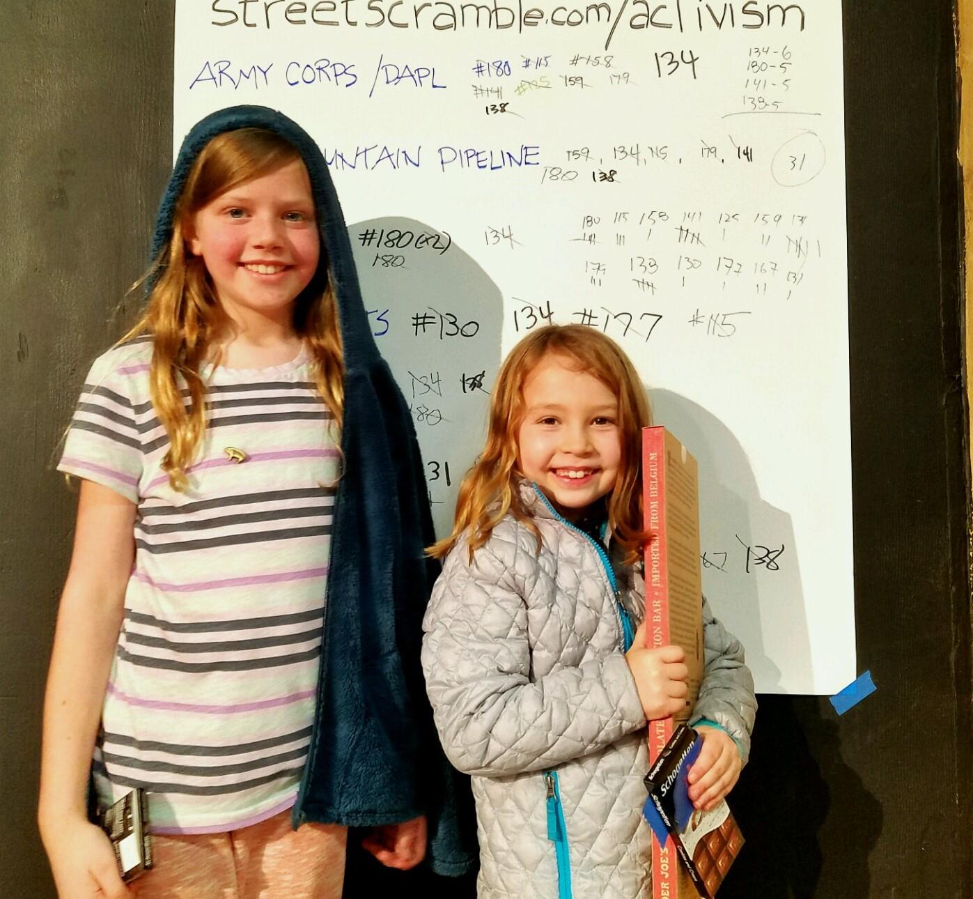 Street Scramble Activism